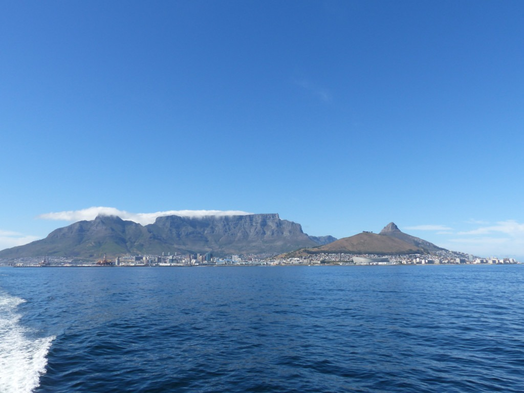Table Mountain is a UNESCO World Heritage Site in South Africa