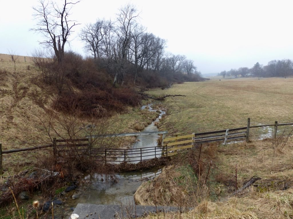 This tributary is not covered under WOTUS